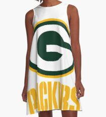 Green Bay Packers  A-Line Dress