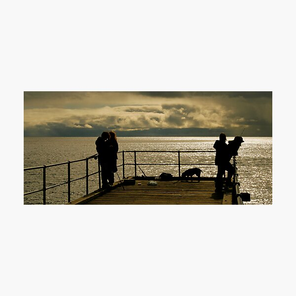Fishin Photographic Print
