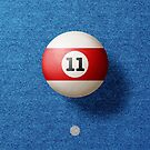 BALLS / Pool Billiard (eleven) von Daniel Coulmann