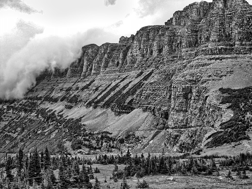 Glacier National Park 3 by Bruce  Dickson