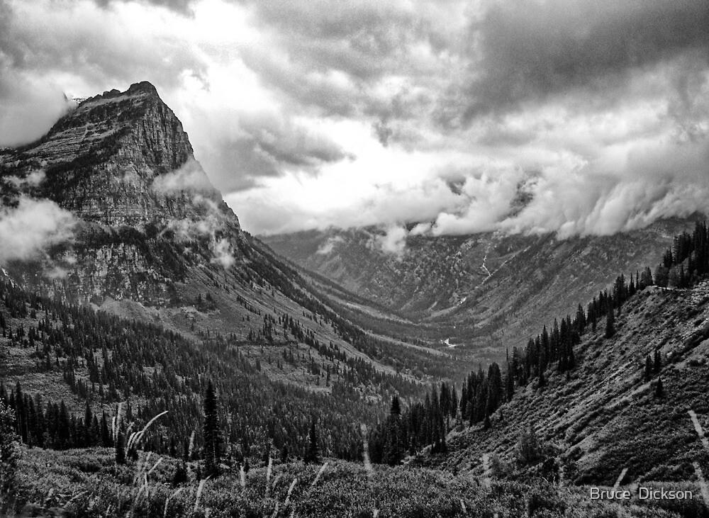 Glacier National Park 1 by Bruce  Dickson
