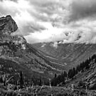 Glacier National Park 1 by Bruce  Dickson