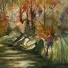 Autumn Woods by Andrea Gabriel