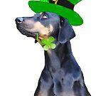 Saint Patrick's Day Pooch by missmoneypenny