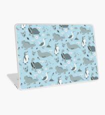 Galapagos Pattern Blue Laptop Skin