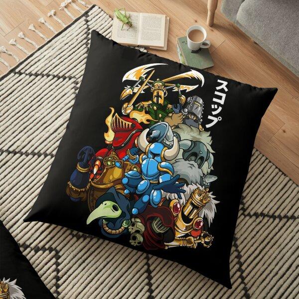 Shovel Man 11 Floor Pillow