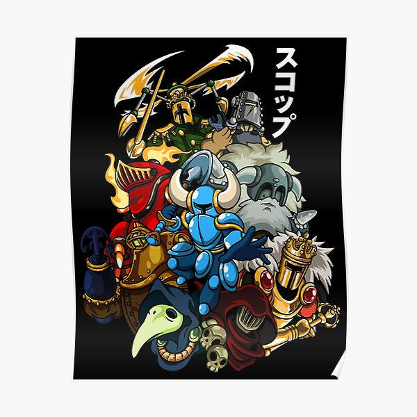 Shovel Knight Posters Redbubble See more 'shovel knight' images on know your meme! redbubble