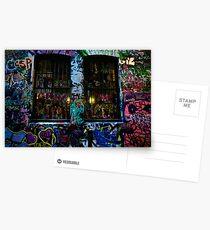 Painted Windows Postcards