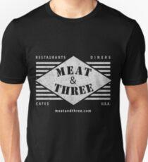 Fleisch-und-drei-Diamant-Form Unisex T-Shirt