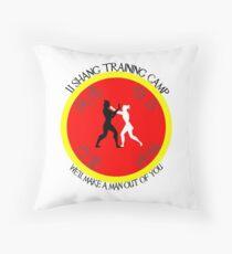 Li-Shang Training Camp Throw Pillow