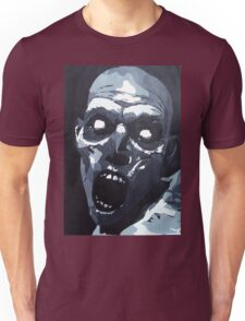 Hungry Zombie- Abstract Zombie Painting Unisex T-Shirt