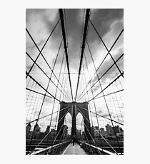 Brooklyn to Manhatten Photographic Print