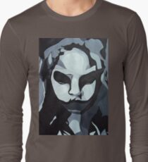 Sinister Zombie- Zombie Girl Painting  Long Sleeve T-Shirt