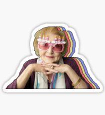 Birthday Betty Layered Sticker
