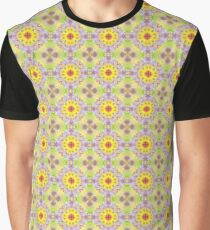 abstract blob color seamless colorful repeat pattern Graphic T-Shirt