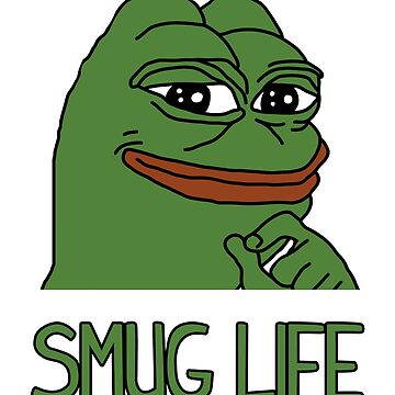 Pepe The Frog Smug Life by orinemaster