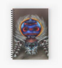 Peacock Spider Spiral Notebook