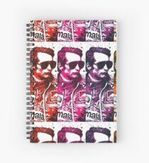 Niki Lauda Pop art (Edit) Spiral Notebook