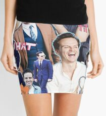 andrew scott collage Mini Skirt