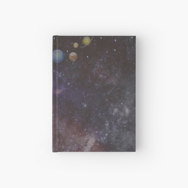 Making a planet Hardcover Journal