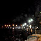 CADIZ at night - Seafront by Daniela Cifarelli