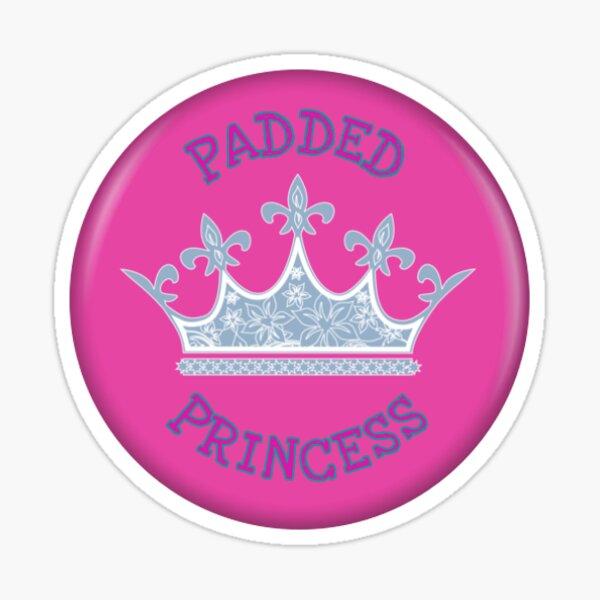 Age Play ABDL AB / DL Diaper Padded Princesse Couronne diadème Sticker