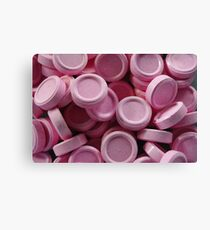 pink lollies Canvas Print