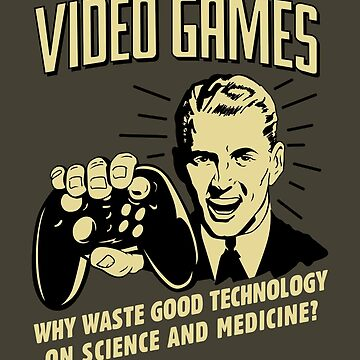 Video Games Why Waste Good Technology Retro by orinemaster