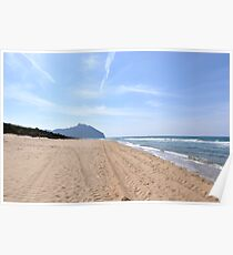 Circeo's Promontory - National Park of Circeo - Latium - Italy Poster