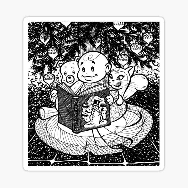 Winter Tales Sticker
