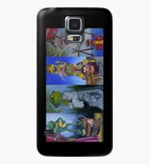 Muppets Haunted Mansion Stretching Room Portraits Case/Skin for Samsung Galaxy