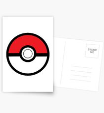 Pokeball Postcards