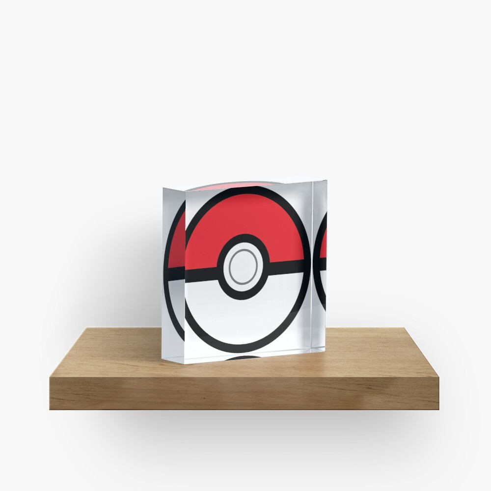 Pokeball Acrylblock