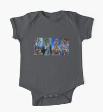 Muppets Haunted Mansion Stretching Room Portraits One Piece - Short Sleeve