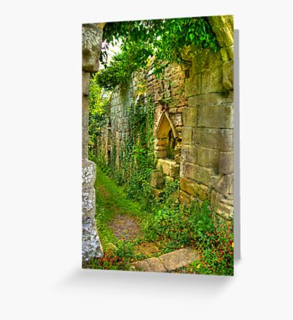 Passage Way Greeting Card