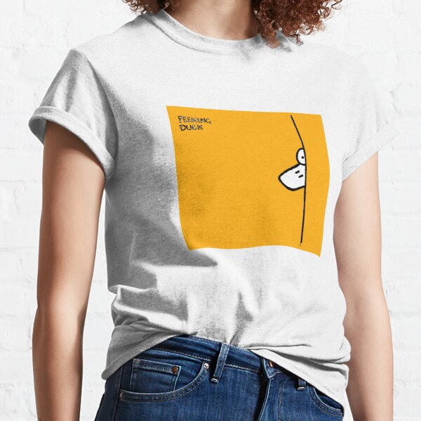 Peeking Duck Classic T-Shirt