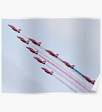 Red Arrows - 2015 Display Tails Poster