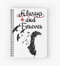 Always and Forever - The Originals - The Vampire Diaries Spiral Notebook