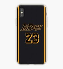 eebfa051bb8b02 LeBron James iPhone Case. La Bron Jersey Script 4 iPhone Case