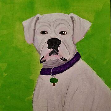 Boxer Dog by Energykotash