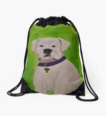 Boxer Dog Drawstring Bag