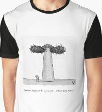Funny Rapunzel Perm Hair Cartoon Humor Graphic T-Shirt