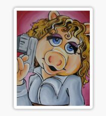 Miss Piggy, Professor River Song Sticker
