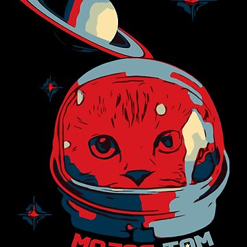 Major Tom Astronaut Cat Space Kitty by House-of-Roc