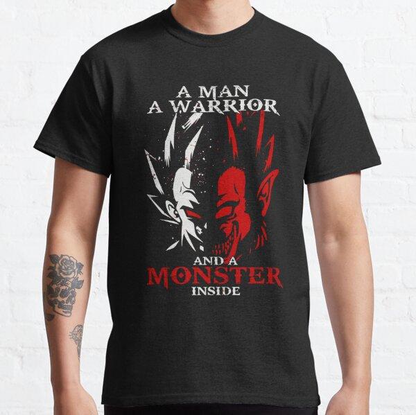 Drôle Dragonball z Goku et Vegeta T-shirt - Monstre Ape Saiyan Dragon Ball T-Shirt T-shirt classique