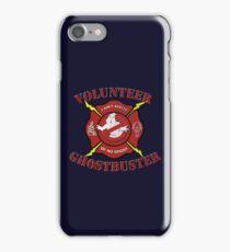 Volunteer Ghostbusters iPhone Case/Skin