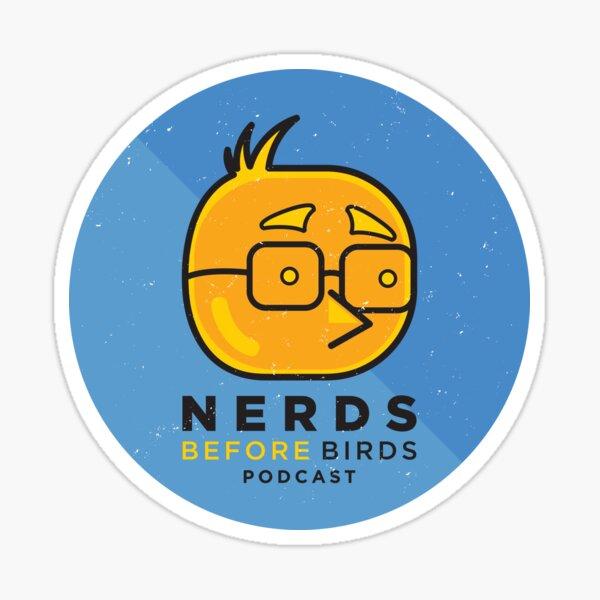 Nerds Before Birds Podcast Sticker