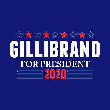 Kirsten Gillibrand for President, 2020 by jasonaldo00