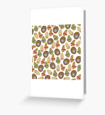 Ninja Potatoes Greeting Card