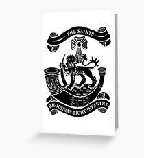 Rhodesian Light Infantry Greeting Card